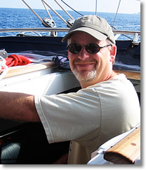 Capt Jon Baker San Juan Island sailing charters