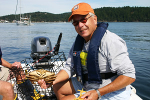 Crabbing in San Juan Islands - Sail the San Juans