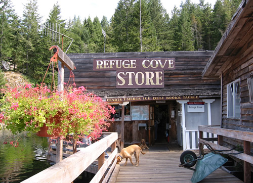 Refuge Cove, San Juan Islands sailing cruises