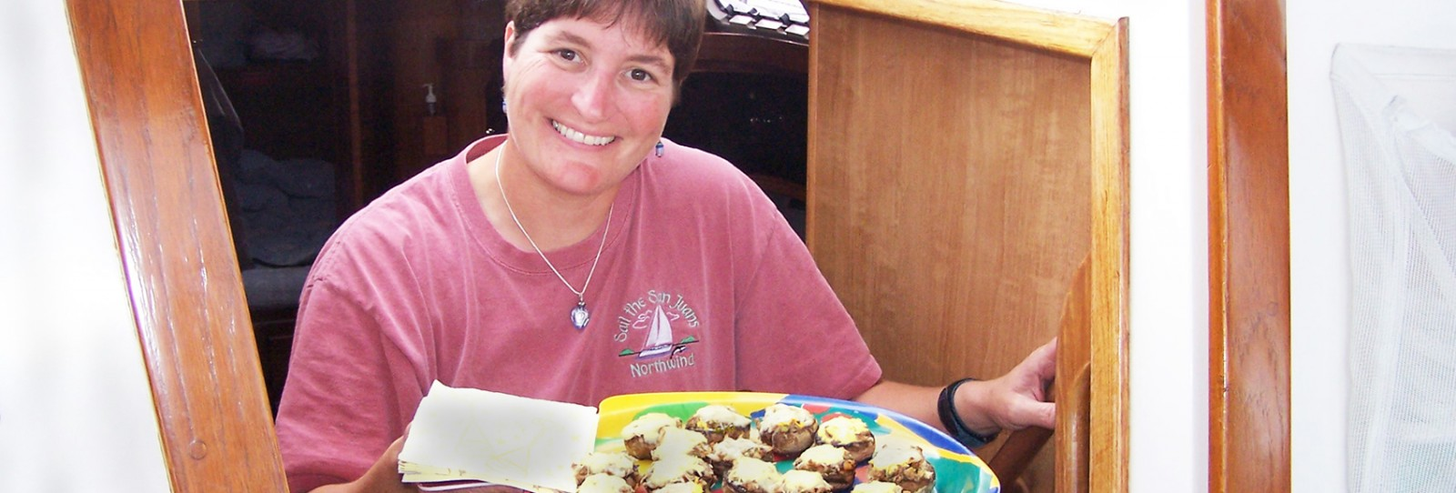 gourmet cuisine from Chef Jette on san juan islands sailing cruises