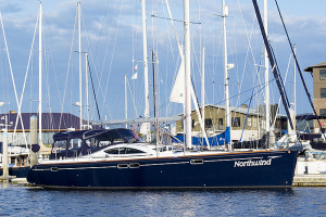 Northwind in bellingham marina - fully crewed san juan islands sailing tours