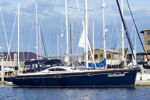 Northwind in bellingham marina - fully crewed san juan islands sailing tours