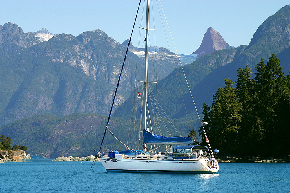 northwind - san juan islands crewed yacht charters bellingham