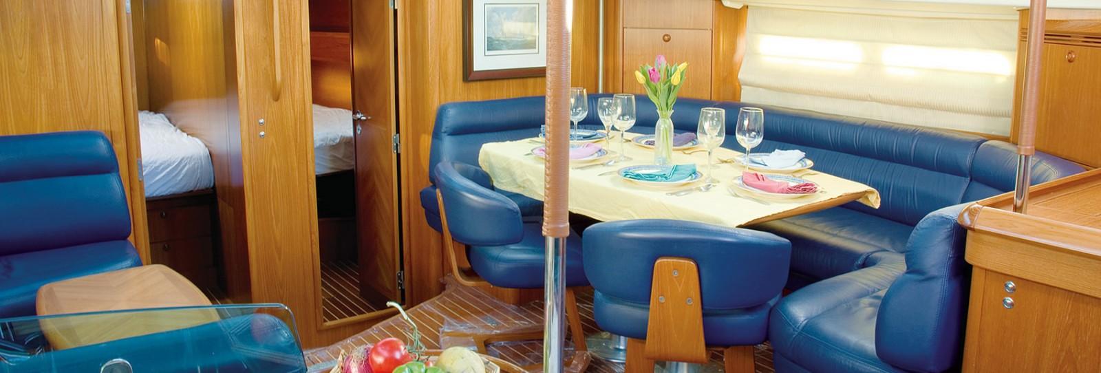 northwind's salon - yacht charters san juan islands