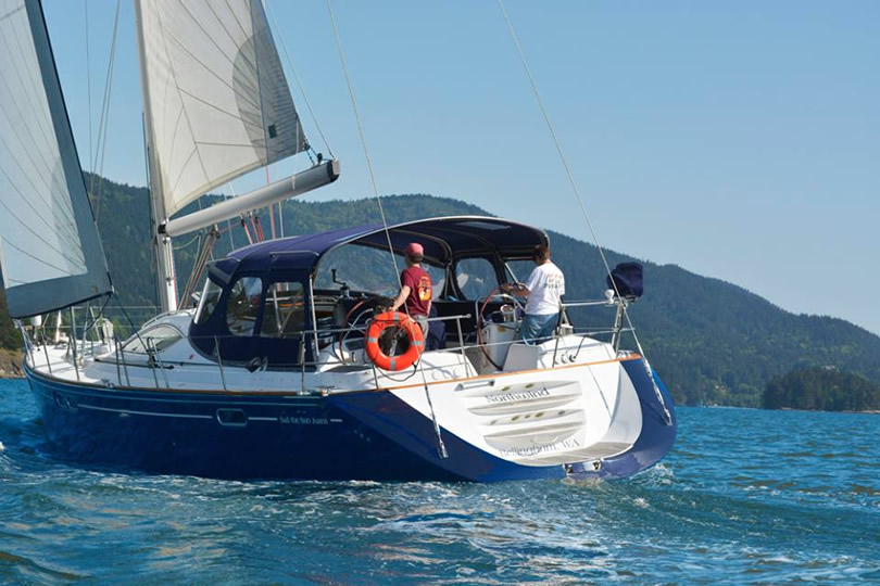sail the san juan islands aboard northwind