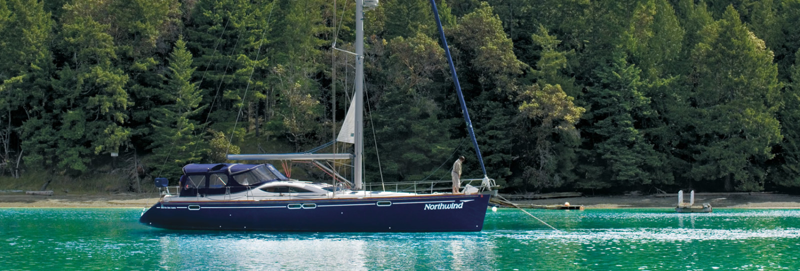 sailing the san juan islands aboard Northwind