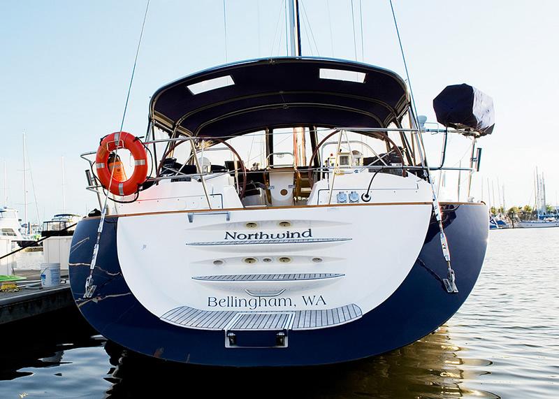 sailing the san juan islands on luxury yacht northwind